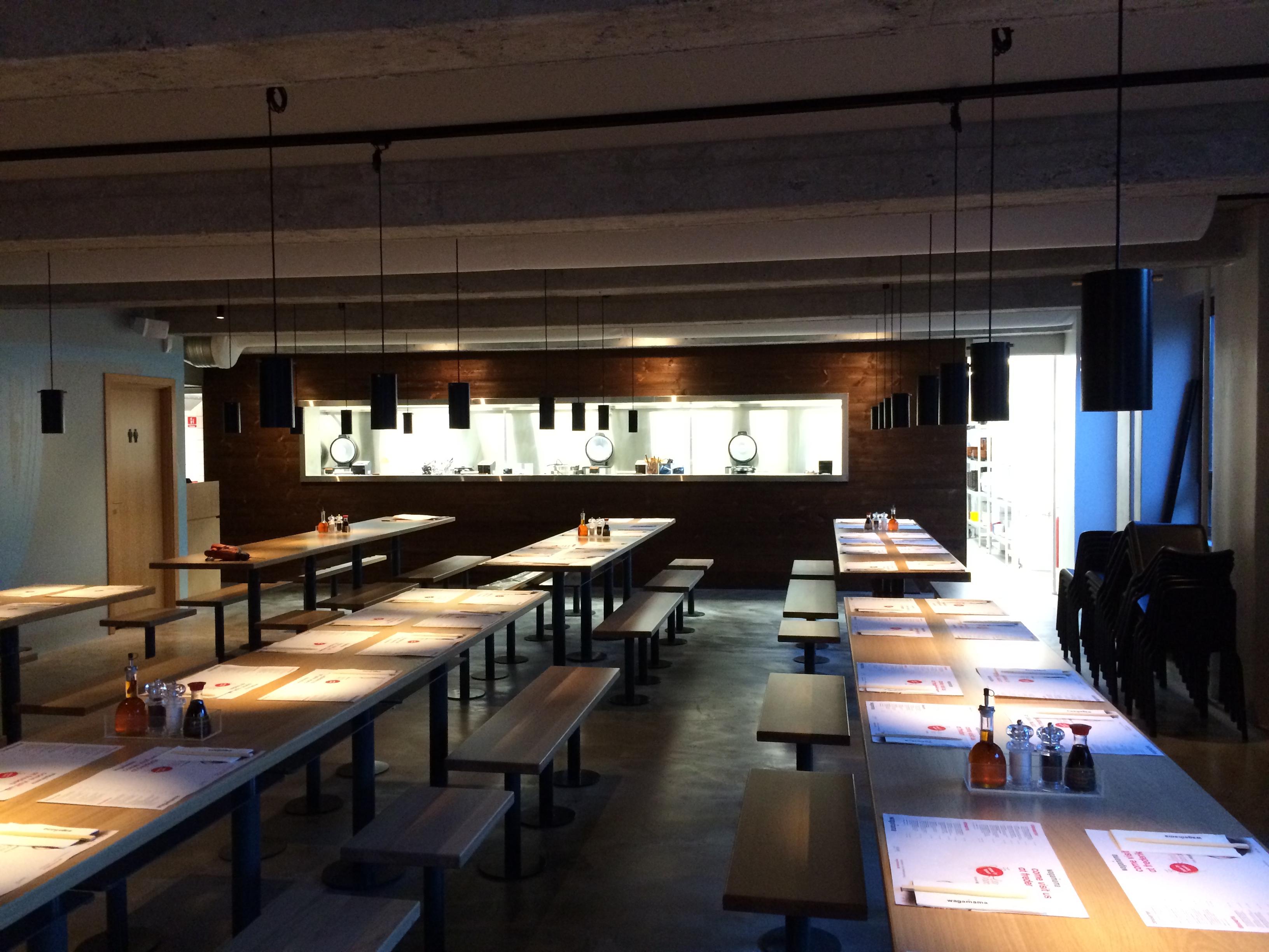 Renovering - ny restaurant Wagamama på Frederiksberg